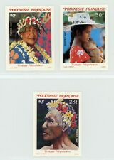 French Polynesia 1986 Polynesians Imperforate Set MNH X641