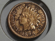 1896 INDIAN CENT COIN NICER GRADE COLLECTOR COIN
