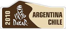 RALLY sponsor MOTORSPORT Decalcomanie in vinile esterno RALLY ARGENTINA CILE 2010 Sticker