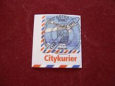 """PRIVATPOST 2012 Citykurier 40 Cent """"100 Jahre Postflug Gotha"""" Ersttagsstempel"""