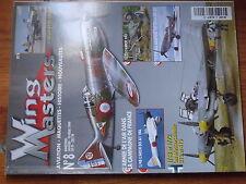 $$x Revue Wing Masters N°8 Amiot 143  Arsenal VG 33  Messerschmitt 210  Aichi D3