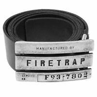 Mens Firetrap Gate Belt New
