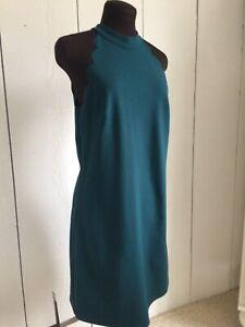 BCX Halter Party Evergreen Dress Size Medium NWT