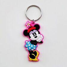 Disney - Minnie Mouse - Minnie PVC Soft Touch Laser Cut Keychain/Keyring