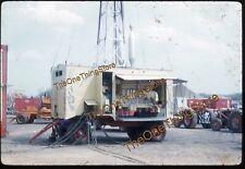 James Strates Carnival Power Plant Wagon Trailer 1960s 35mm Slide Kodachrome