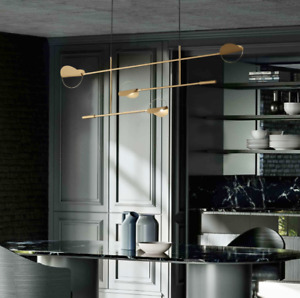 Creative Metal Branches Chandelier Linear Gold Black Floor Lamp Wall Light Fixtu