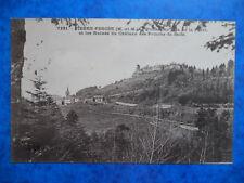 PIERRE-PERCÉE  :  Panorama pris de la Forêt.