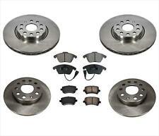 AP Fit 09-17 Volkswagen 2.0L Passat CC 2.0L Disc Brake Rotors & Ceramic Pads 6p