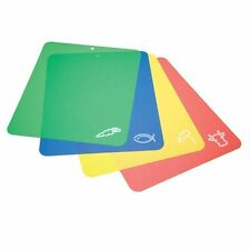 Kitchen Craft Easy Clean Plastic Chopping & Serving Boards