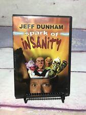 Jeff Dunham - Spark of Insanity (DVD, 2007) Ships Free (M2)