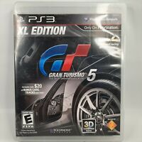 Gran Turismo 5 - XL Edition (Sony PlayStation 3, 2012) PS3 Racing Video Game
