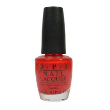 Opi Nail Polish Lacquer H42 Red My Fortune Cookie 0.5floz 15ml