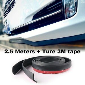 Body Kit Rear Bumper Tuning Ture 3M Tape Car Bumper Lip Deflector Side Skirt