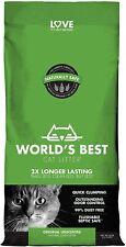 World's Best Cat Litter, Clumping Formula 28-Pound Bag