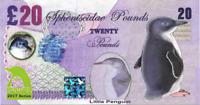 2017 Penguin Series 🐧 LITTLE PENGUIN 🐧 20 Spheniscidae Pounds 🐧 Fantasy Note