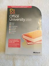 Microsoft Office University 2010 (Retail (License + Media)) (2 Computers/1...