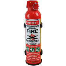 Fire Extinguisher Portable 500 Gram Dry Powder ABE Boat Car Home Caravan Fire
