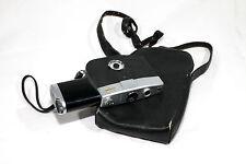 Fujica Single-8 P1 8mm movie camera with Fujinon 11,5mm f/1.8 lens & case