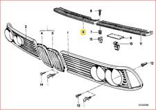 NUOVA BMW X5 E70 PARAURTI ANTERIORE INFERIORE CENTRALE GRIGLIA Trim Lunetta 51117163956