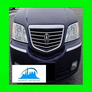 Fits 99 00 01 02 03 04 ACURA RL CHROME TRIM FOR UPPER GRILL GRILLE