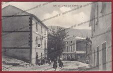 GENOVA BARGAGLI 02 Cartolina viaggiata 1910