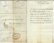 1823  REVERSED 7 IN LONDON D.S. L456A & TP BISHOPSGATE E/L SEND DEEDS > DOMINICA