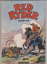 RED RYDER album n°6 - Dupuis 1954. EO. Très bel état