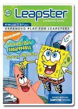 SpongeBob Squarepants Saves the Day  leapster 2  2007 cartridge game