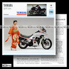 #017.20 YAMAHA XJ 650 TURBO 1981 Fiche Moto Motorcycle Card