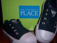 NIB Children's Place TCP Lazer Slide-on Shoe Navy 7 NEW