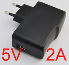 AC Converter Adapter DC 5V 2A Power Supply Charger EU plug 2000mA USB 10W