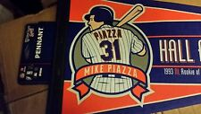 NY METS MIKE PIAZZA HOF PENNANT #31 7/31/2016 HALL OF FAME INDUCTION BANNER