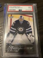 2015-16 Upper Deck Young Guns Connor Hellebuyck PSA 9 Mint Rookie RC