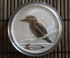 1 Unze Silbermünze Australien Kookaburra 2007