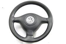 VW Golf 4 Bora Lenkrad 3 Speichen Leder Lederlenkrad - E1