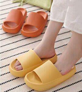Women's Summer Home Slipper Platform Flip Flops Thick Sandals Beach Casual Shoes
