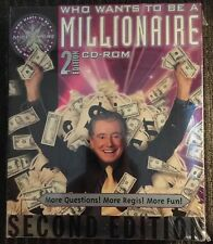 Who Wants to Be a Millionaire Second Edition, PC & MAC, 2000, CD-ROM - IN BOX!