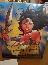 Wonder Woman Guide Book DC Comics 2017 Hardcover Amazon Warrior Powers Creation