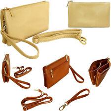 Small Nude Clutch Bag Multi Pocket Crossbody Handbag Shoulder Wallet Coin Purse