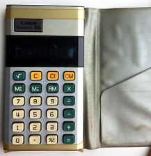 Vintage Canon Palmtronic 8Ms LED Calculator
