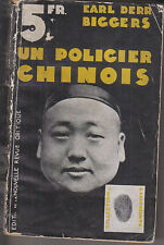 C1 CHARLIE CHAN Earl Derr Biggers POLICIER CHINOIS 1932 Charlie Chan Carries On