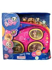 Littlest Pet Shop☆Exclusive Carry Case+7 Pets☆1714,1715,1716,1717,1718,1719,1720