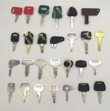27 Heavy Equipment key For CAT Volvo Kubota Hitachi JDS Komatsu Kobelco Bobcat