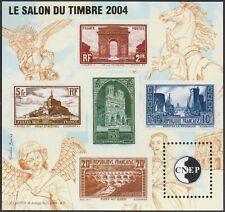 FRANCE BLOC CNEP N°41** SALON DU TIMBRE 2004 Les Semi-Modernes Pont du Gard...TB