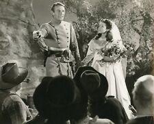 GENE TIERNEY RANDOLPH SCOTT BELLE STAR 1941 VINTAGE PHOTO ORIGINAL #6