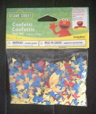 Sesame Street 1st Birthday Confetti Birthday Party Supply Favors NIP