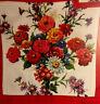 Candamar Designs Zinnias & Asters Pillow Kit Counted Cross Stitch Garden Floral