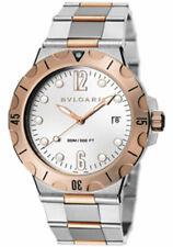 Bvlgari Diagono Scuba Pro Watch Ref. 102325 41MM Two-Tone