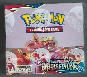 POKEMON BATTLE STYLES BOOSTER BOX 36 PACKS Factory Sealed