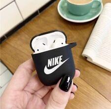 Nike Airpods Case 1 Et 2 Silicone Noire Housse Protection Expédition France 🇫🇷